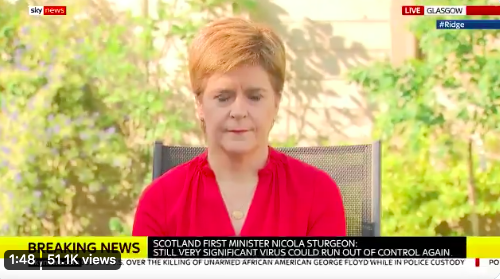 Sunday shows round-up: Sturgeon challenged over care home deaths