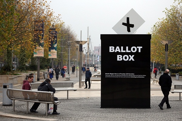 Turnout for the Police and Crime Commissioner elections was predictably and avoidably low, Conor Burns MP says. Image: Getty