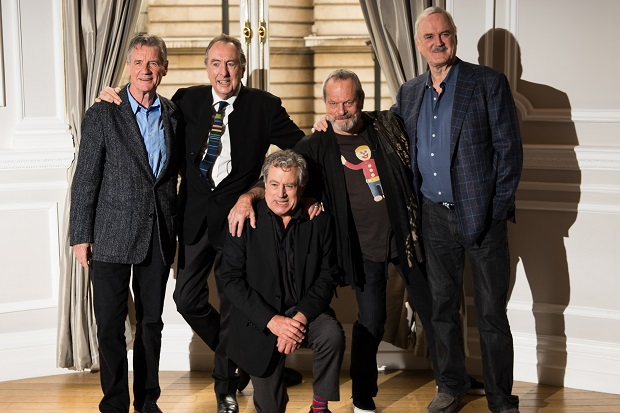 The Pythons haven't started rehearsing yet because they don't want to 'peak too early', says Michael Palin.