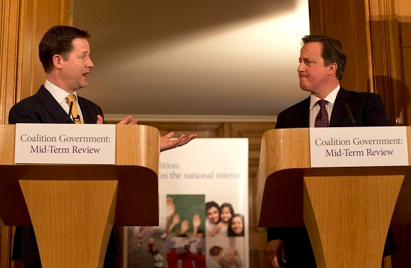 Could a second term of coalition government be on the cards? Image: Getty