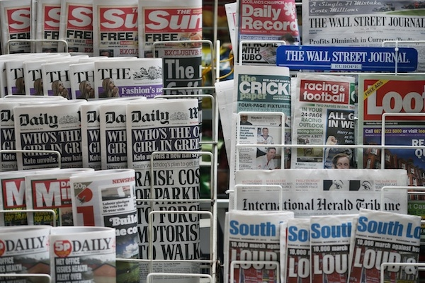 The Leveson report on press standards will be published tomorrow. Picture: Getty