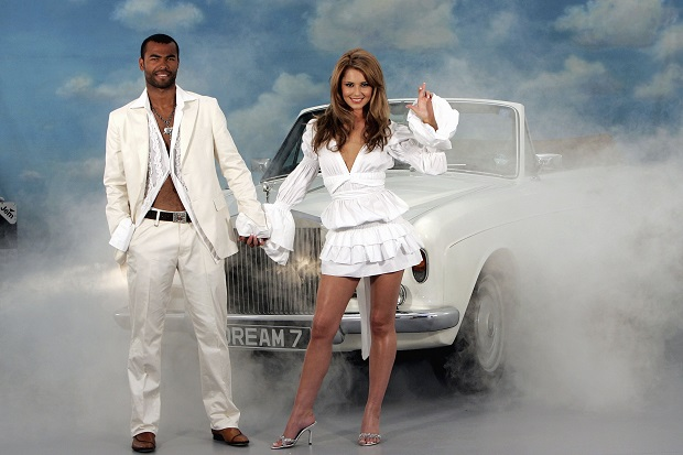 Cheryl Cole and Ashley Cole featured in a National Lottery advertising campaign in 2006.