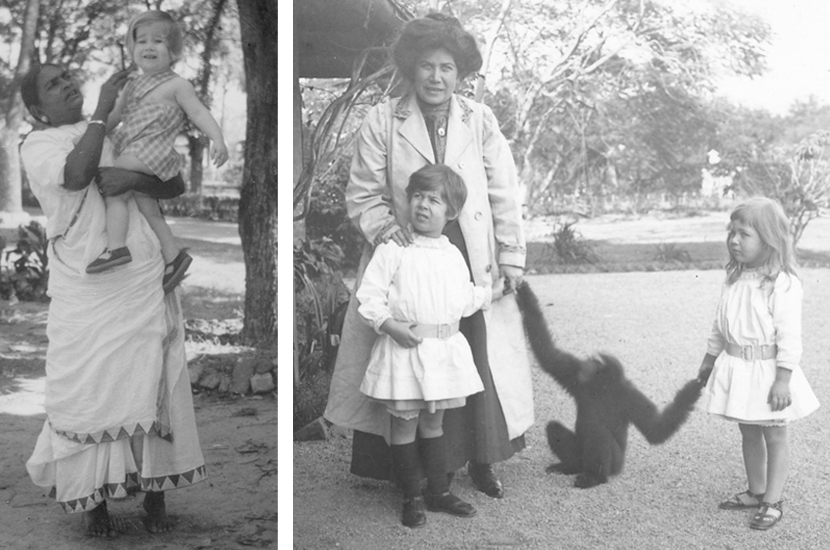 The lifelong effects of being a child in the British Raj