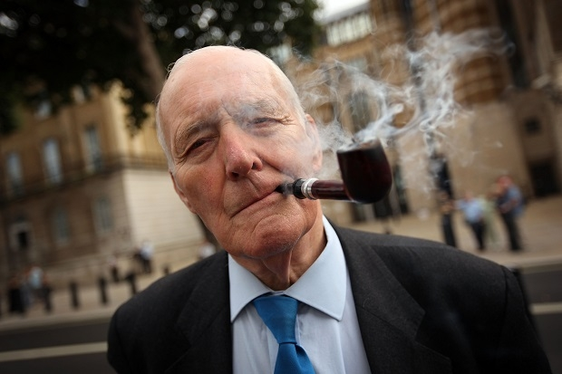 Tony Benn Joins Remebrance Ceremony For 204 Dead Soldiers