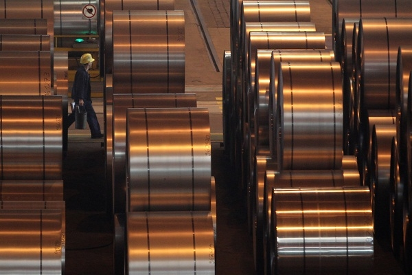 Tata has announced 900 job cuts at steel plants across the UK. Image: Getty