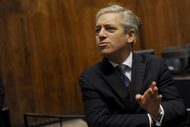 John Bercow has been laying out his ideas for parliamentary reform. (VESA MOILANEN/AFP/GettyImages)