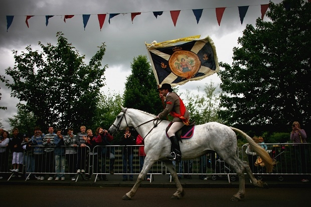 Selkirk's annual remembrance of the Battle of Flodden. Image: Getty