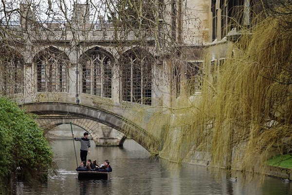 The Famous University Town Of Cambridge
