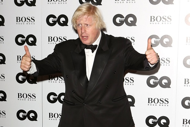 Boris Johnson was on fine form at last night's GQ Man of the Year Awards.