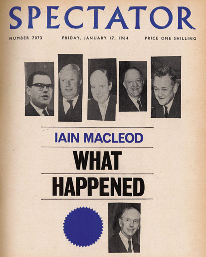 The Spectator book review that brought down Macmillan's government