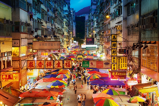 Hong kong: Eating it up