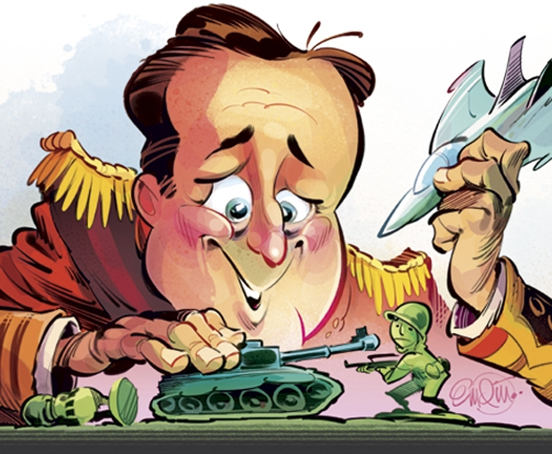 David Cameron's wars: How the PM learned to love precision bombing