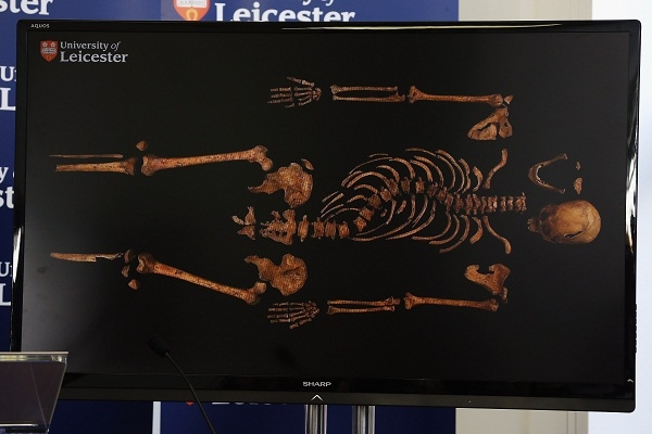 Richard III's deformed skeleton proves that one supposed Tudor libel about the king was no more than the truth. Image: Getty