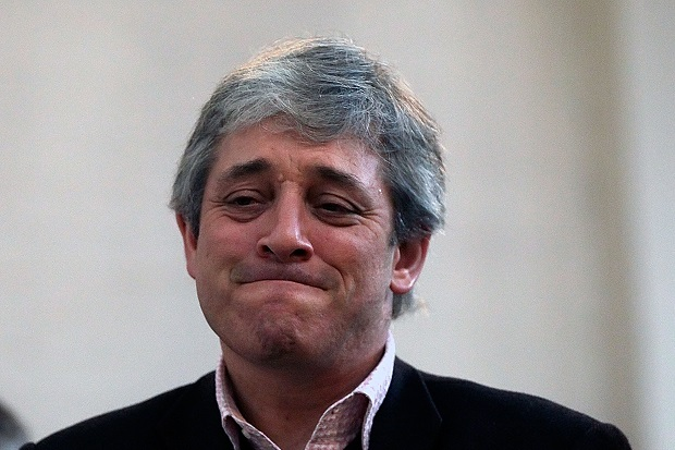John Bercow has been stamping his little feet again.