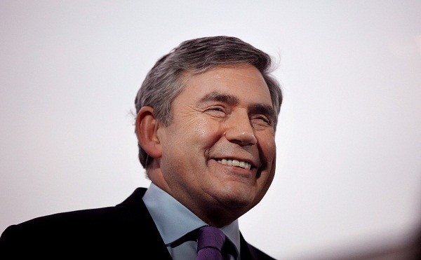 Gordon Brown Canvasses For Support On The Final Full Day Of The Campaign