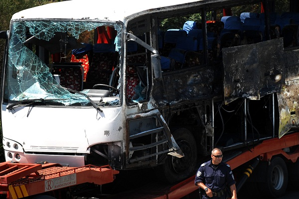 Bulgarian bus bomb, Getty Images