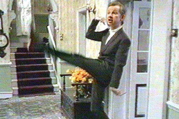 Michael Gove is no Basil Fawlty, says his wife. He's a great admirer of all things Teutonic.