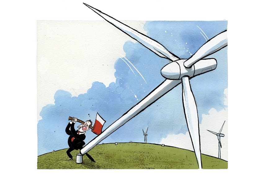Say no to wind farms: Shale of the century