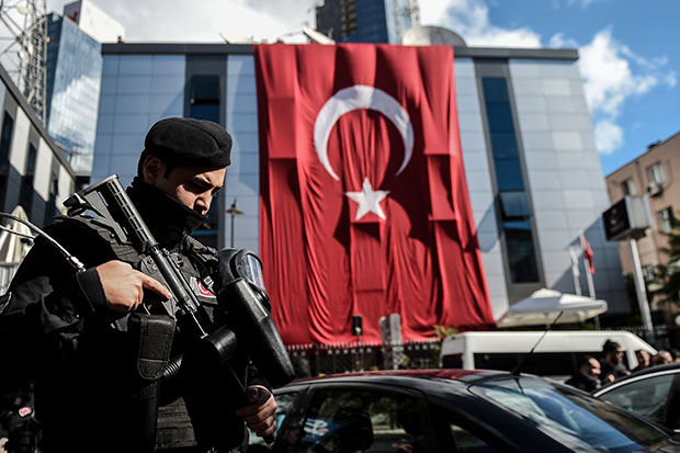 Turkey's climate of fear
