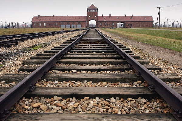 Auschwitz and Gaza seem to be one and the same in the minds of some. Image: Getty