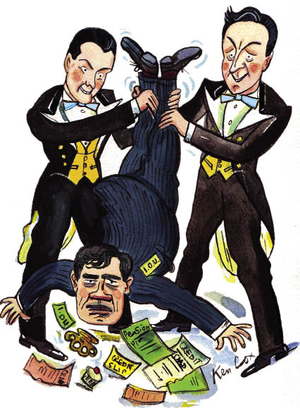 Brown has played into the hands of the Tory Bullingdon Boys he loathes