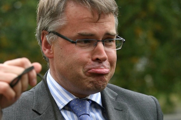 Former minister Tim Loughton has made comments about former Lib Dem minister Sarah Teather. Photo: PA.