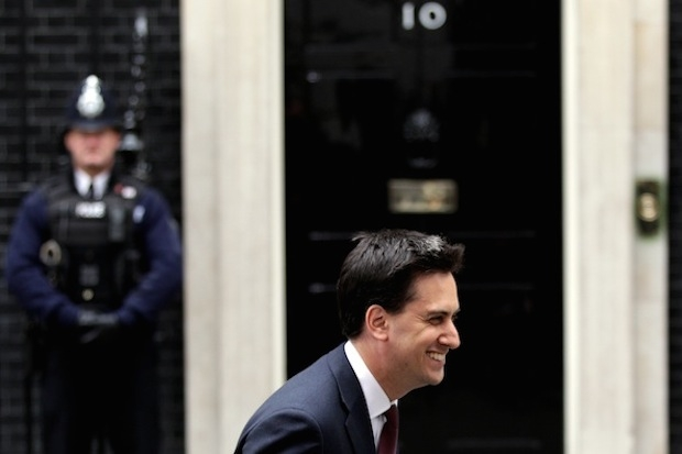 Has Miliband exhumed Old Labour policies to take him to No.10? Photo: Getty Images.