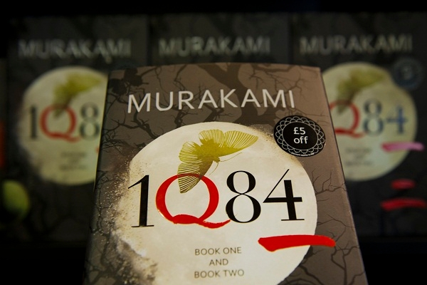 Haruki Murakami's '1Q84' has been removed from bookshops in Beijing; George Orwell would have seen the irony. Image: Getty.