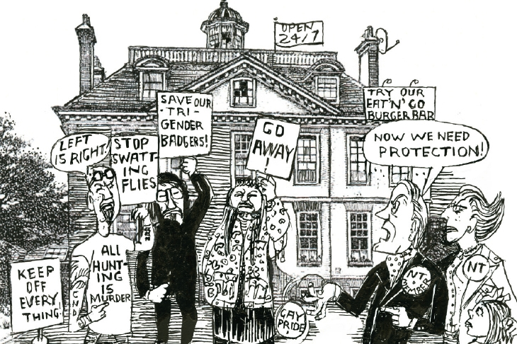 Why is the National Trust hounding hunters?