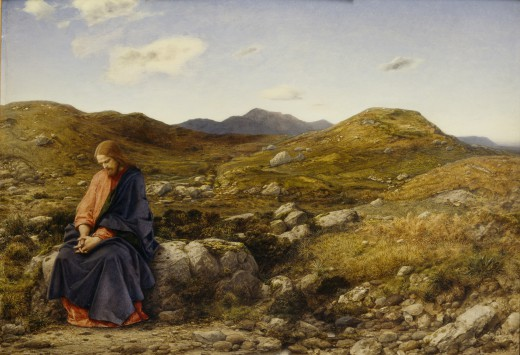 Man of Sorrows (c. 1860) by  William Dyce © Scottish National Gallery