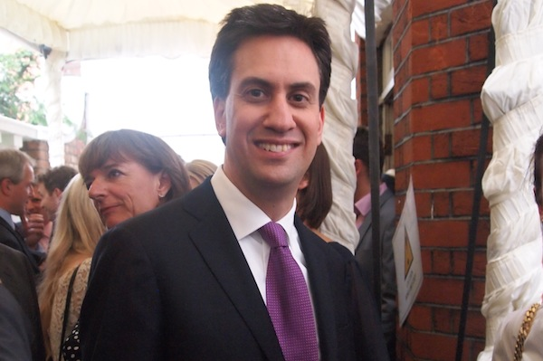 Ed Miliband at the Spectator Summer Party.