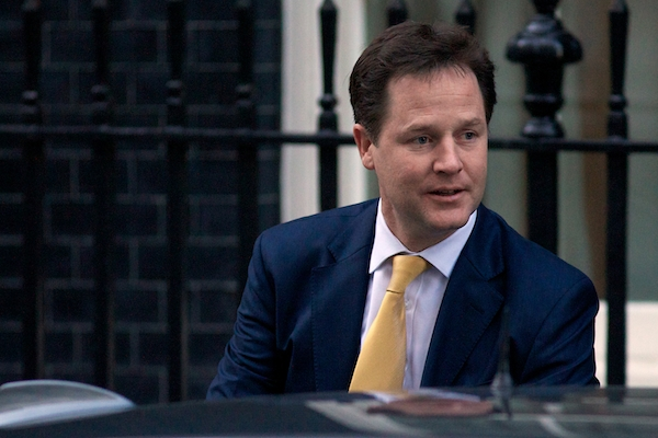 Can Nick Clegg persuade the public to give him a hearing? Picture: Getty Images