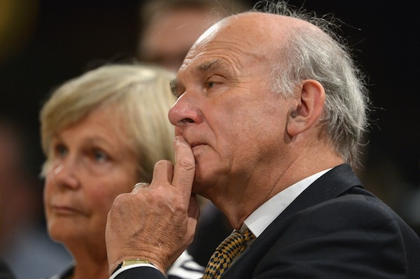 Vince Cable has been vocal about protecting his department's budget from further cuts. But he hasn't succeeded in doing so, unlike his Tory colleagues. Picture: Getty
