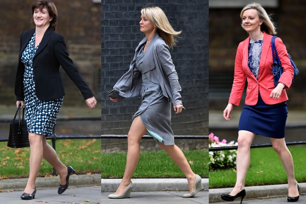 Here come the girls... (Photo: Getty)