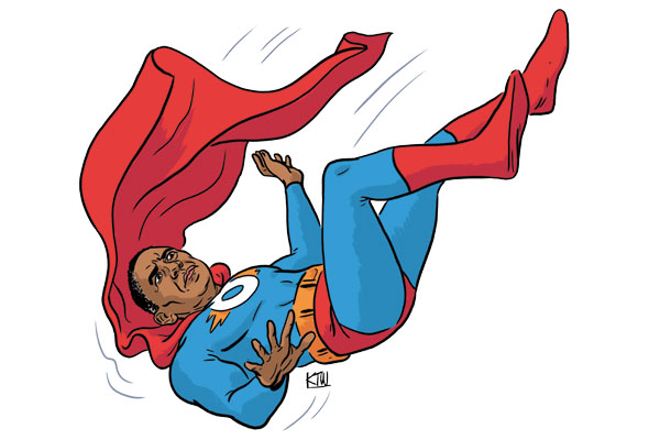 Has Obama lost his super powers? We discuss on this week's Spectator podcast.