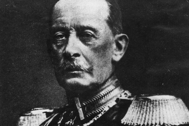 Field Marshal Alfred von Schlieffen in 1905 (Photo: Hulton Archive/Getty)