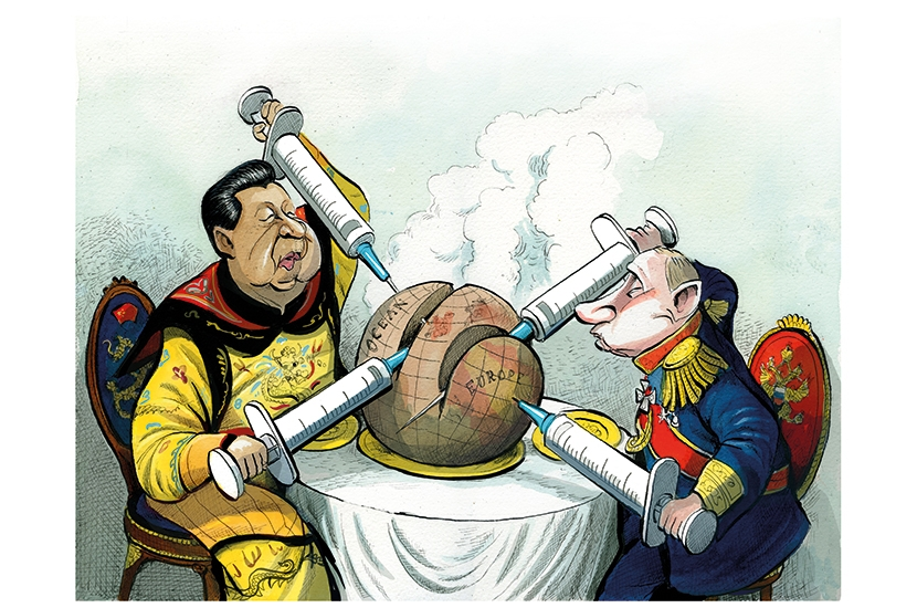 Power jab: the rise of vaccine diplomacy