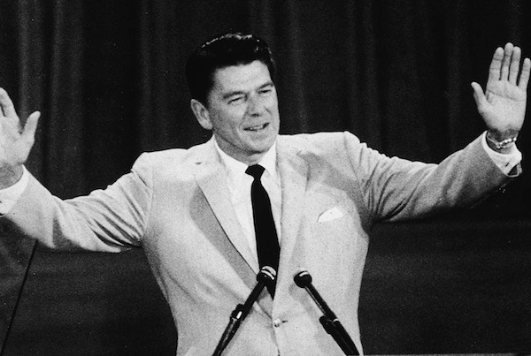 Reagan At Republican National Covention