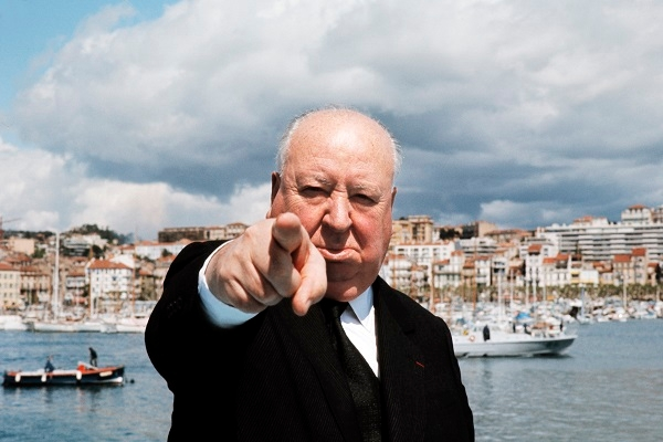 Alfred Hitchcock pictured in Cannes in 1972. (Picture: AFP/Getty Images)