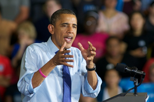 Barack Obama will be a diminished president, even if he wins re-election. Image: Getty.
