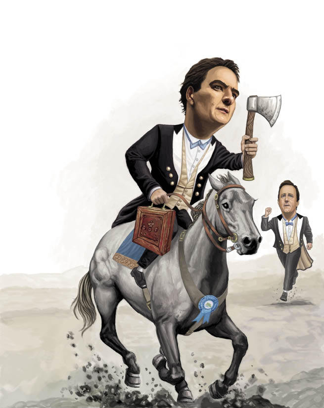 Osborne is becoming  the true Tory leader
