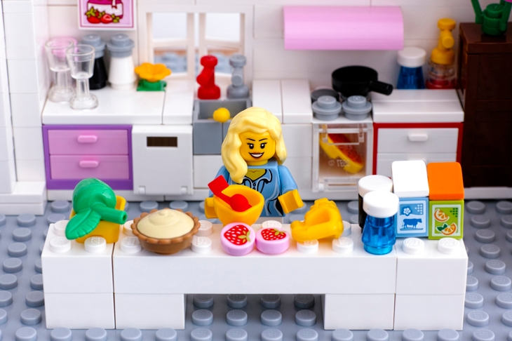 In praise of pink Lego