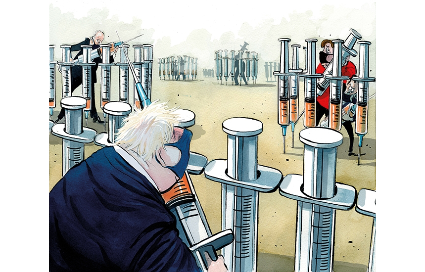 Vaccine wars: the global battle for a precious resource