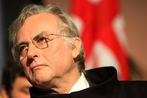 British autor Richard Dawkins photographed during his Doctorate of Honnor at the Antwerp University. Image: Getty