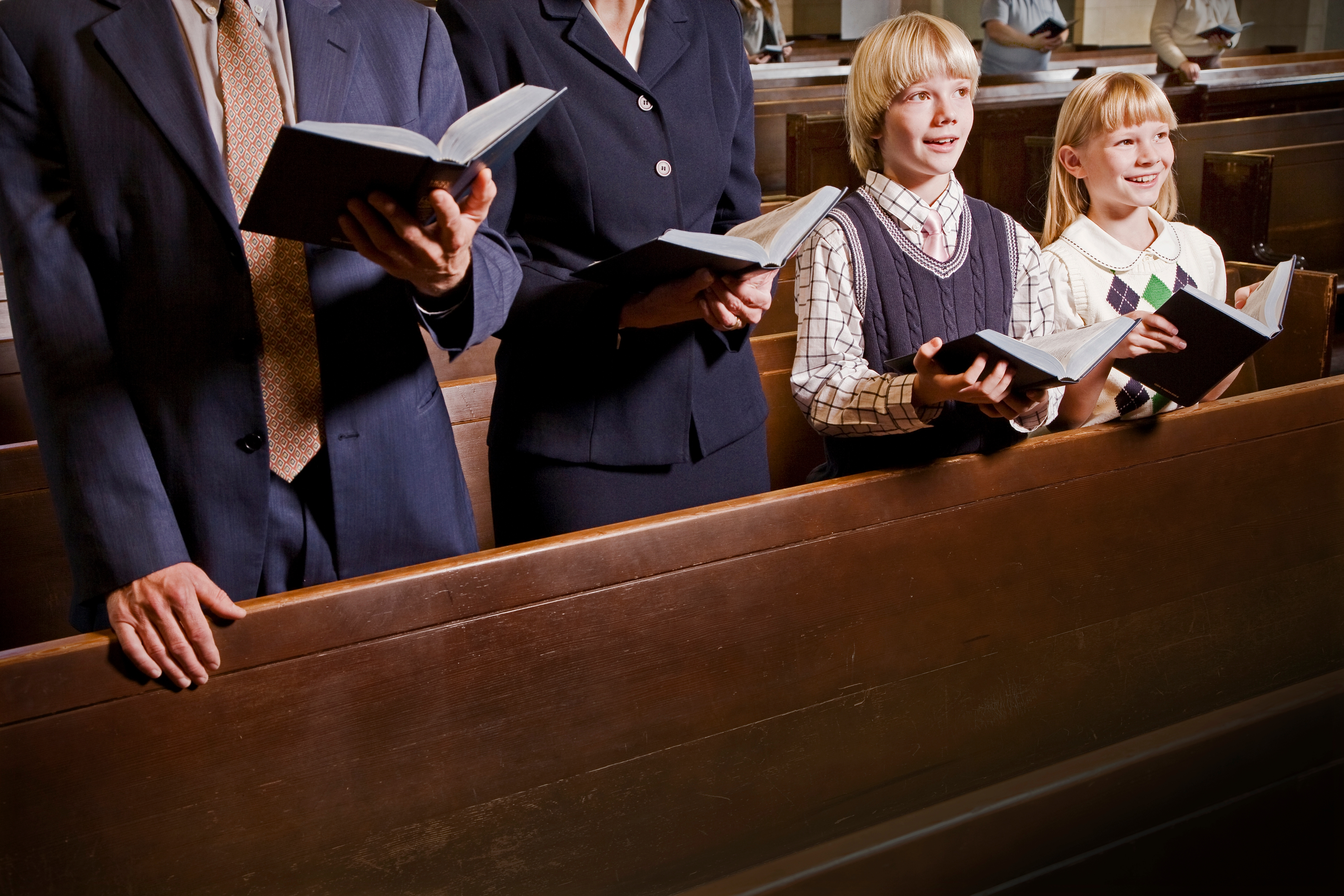 Thank God for hymns!