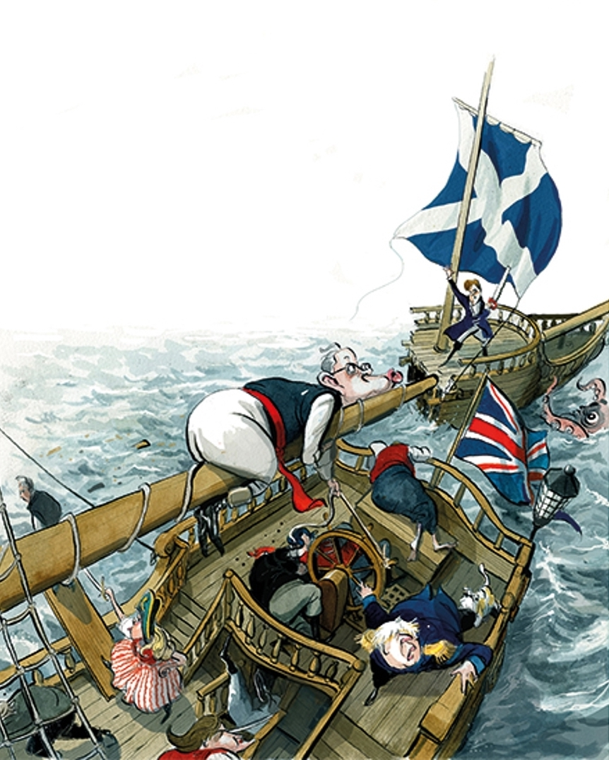 The break-up: Is Boris about to lose Scotland?