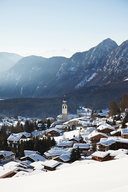 Cable cars, cheese and chic on the quieter side of the Alps
