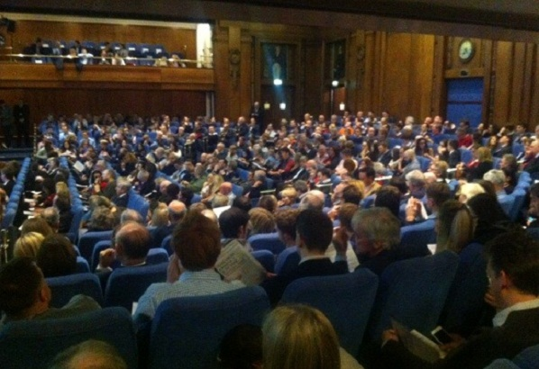 Full house at the Spectator Leveson debate this evening