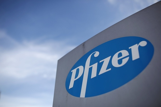 Chancellor George Osborne Visits Pharmaceutical Company Pfizer