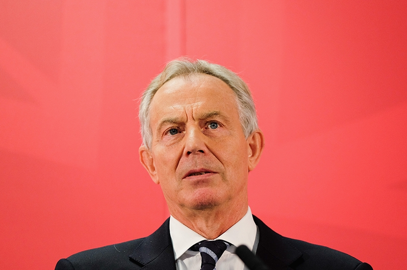 Why is Tony Blair driving government policy?